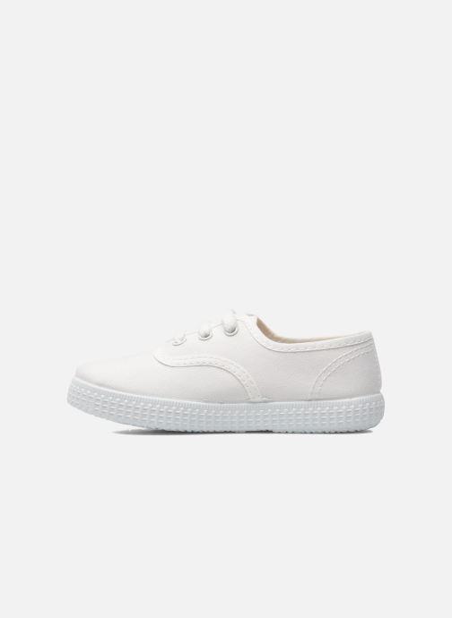 Sneaker Victoria Inglesa Lona weiß ansicht von vorne