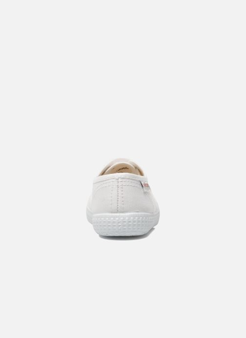 Trainers Victoria Inglesa Lona White view from the right