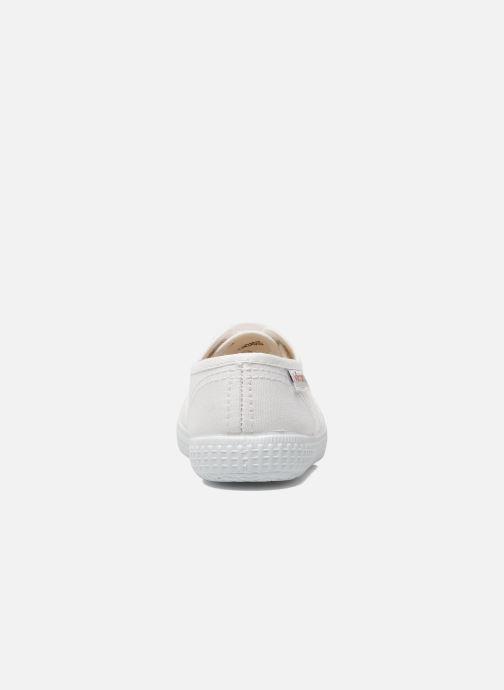 Sneaker Victoria Inglesa Lona weiß ansicht von rechts