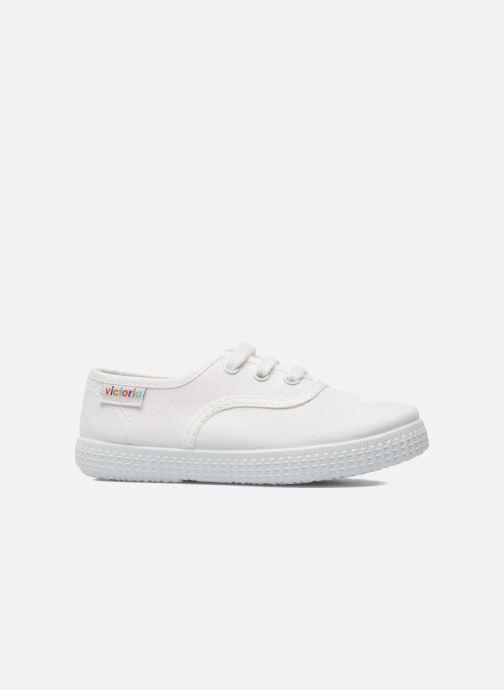 Sneaker Victoria Inglesa Lona weiß ansicht von hinten