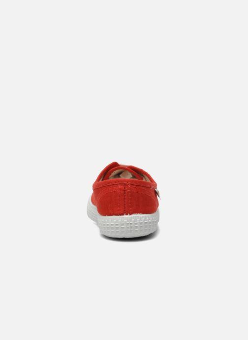 Sneakers Victoria Inglesa Lona Rosso immagine destra