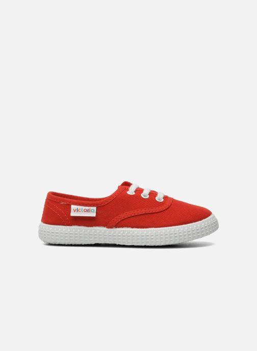 Sneakers Victoria Inglesa Lona Rood achterkant