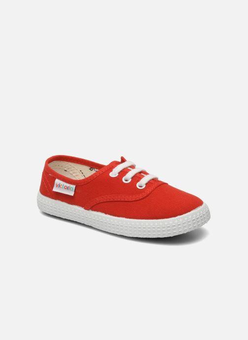 Sneakers Victoria Inglesa Lona Rood detail