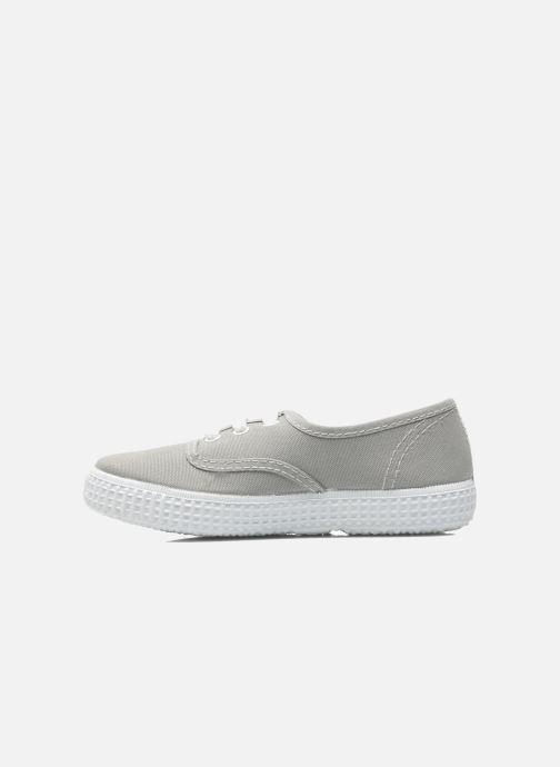 Sneakers Victoria Inglesa Lona Grigio immagine frontale