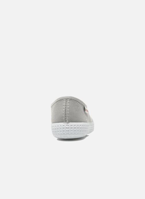 Baskets Victoria Inglesa Lona Gris vue droite