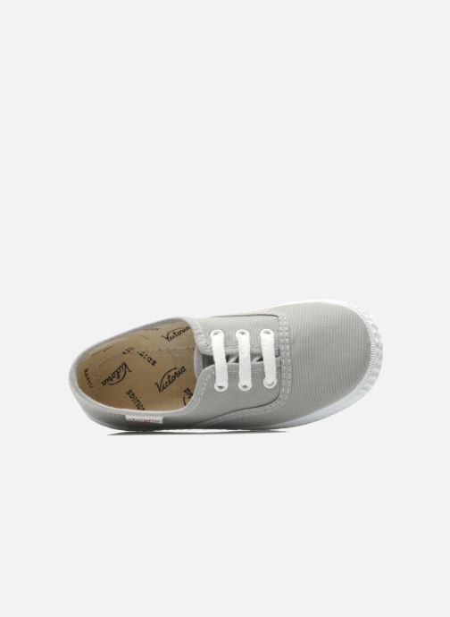 Sneakers Victoria Inglesa Lona Grigio immagine sinistra