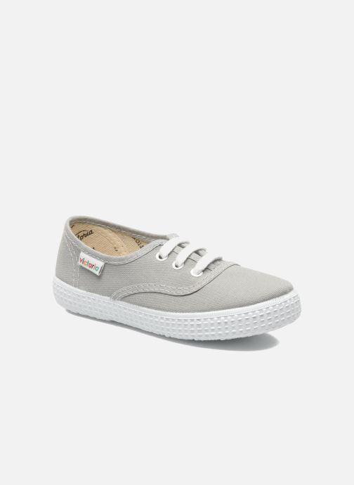 Sneakers Victoria Inglesa Lona Grigio vedi dettaglio/paio