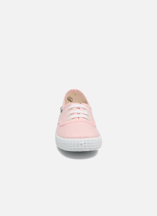 Baskets Victoria Inglesa Lona Rose vue portées chaussures