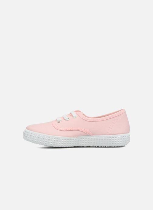 Sneakers Victoria Inglesa Lona Roze voorkant