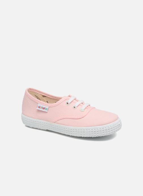 Sneakers Victoria Inglesa Lona Roze detail