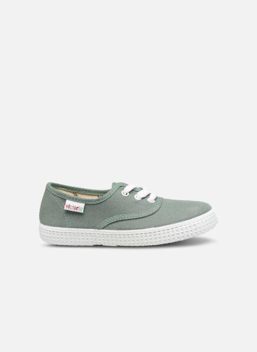 Sneakers Victoria Inglesa Lona Groen achterkant