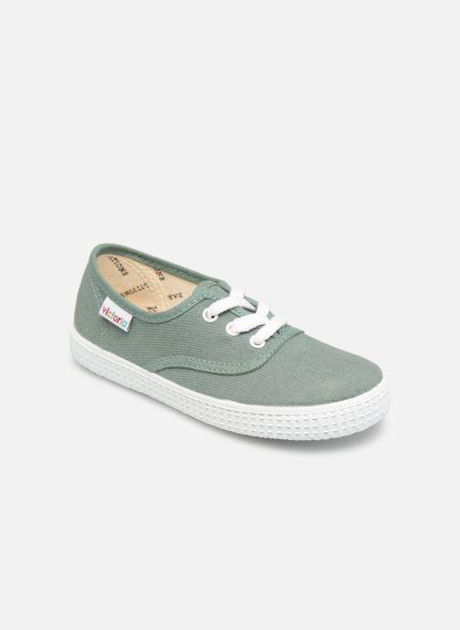 Sneakers Victoria Inglesa Lona Groen detail