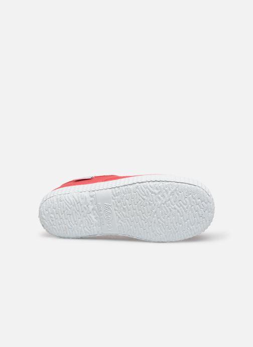 Sneakers Victoria Inglesa Lona Rosso immagine dall'alto