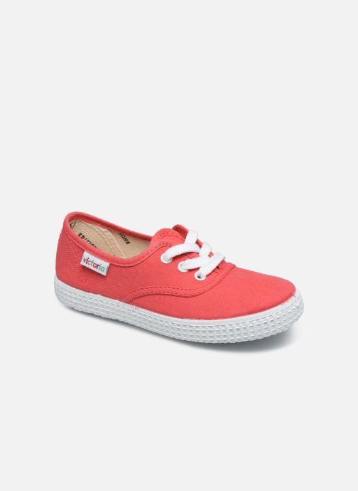 Sneakers Victoria Inglesa Lona Rød detaljeret billede af skoene