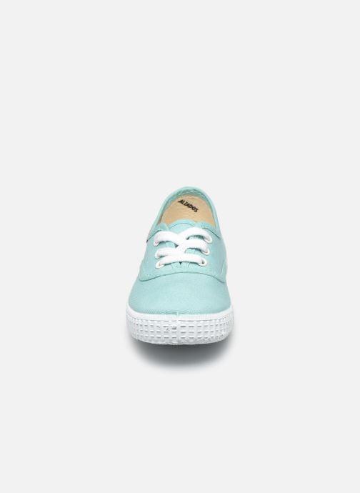 Baskets Victoria Inglesa Lona Vert vue portées chaussures
