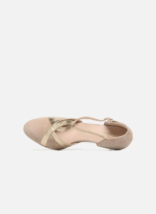 Pumps Georgia Rose Titine beige ansicht von links