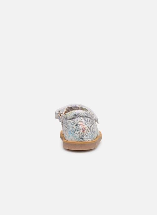 Sandales et nu-pieds Pom d Api POPPY STRAP Blanc vue droite