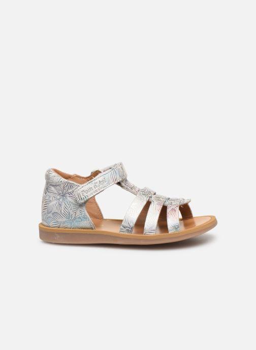 Sandales et nu-pieds Pom d Api POPPY STRAP Blanc vue derrière