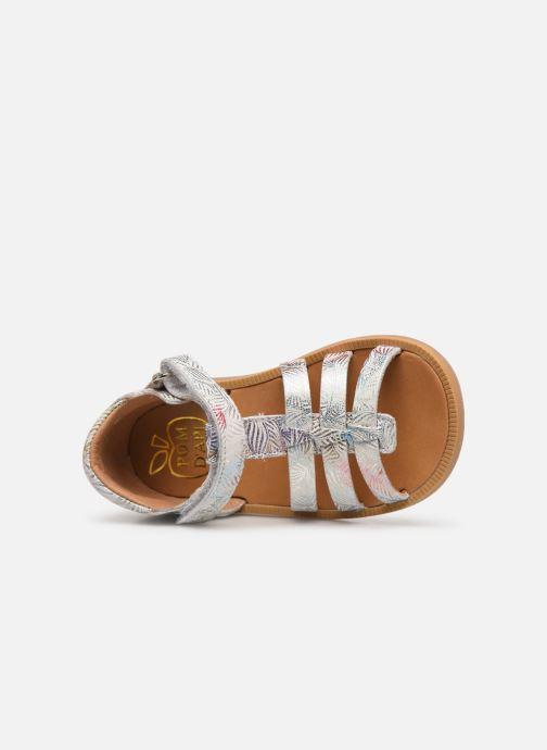 Sandales et nu-pieds Pom d Api POPPY STRAP Blanc vue gauche