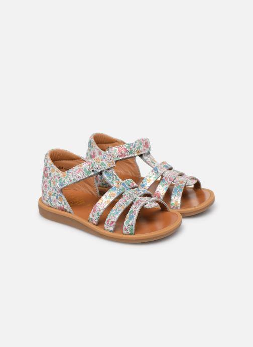 Sandales et nu-pieds Pom d Api POPPY STRAP Multicolore vue 3/4