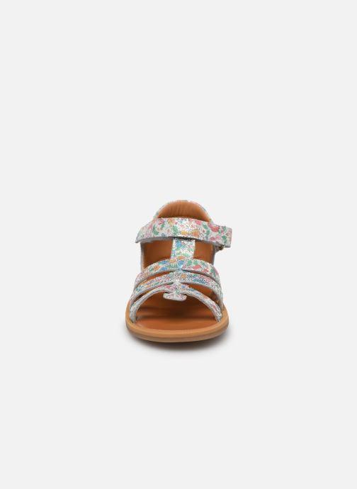 Sandales et nu-pieds Pom d Api POPPY STRAP Multicolore vue portées chaussures