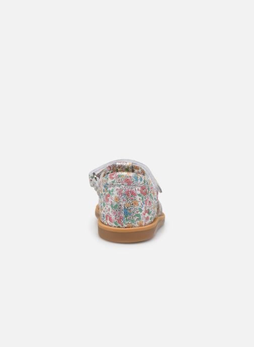 Sandales et nu-pieds Pom d Api POPPY STRAP Multicolore vue droite