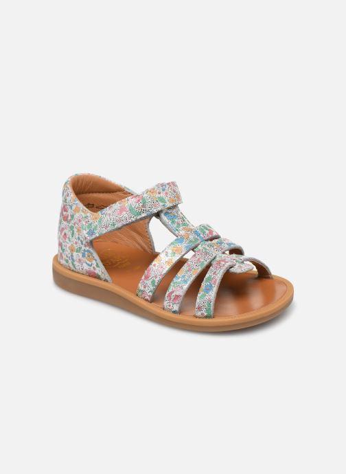 Sandales et nu-pieds Pom d Api POPPY STRAP Multicolore vue détail/paire