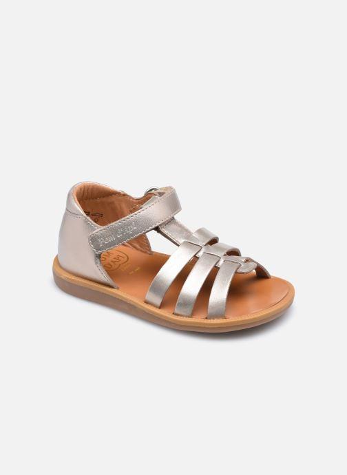 Sandali e scarpe aperte Pom d Api POPPY STRAP Oro e bronzo vedi dettaglio/paio