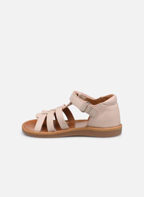 Sandali e scarpe aperte Pom d Api POPPY STRAP Rosa immagine frontale