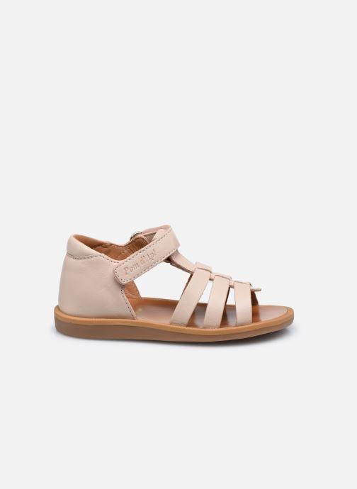 Sandali e scarpe aperte Pom d Api POPPY STRAP Rosa immagine posteriore