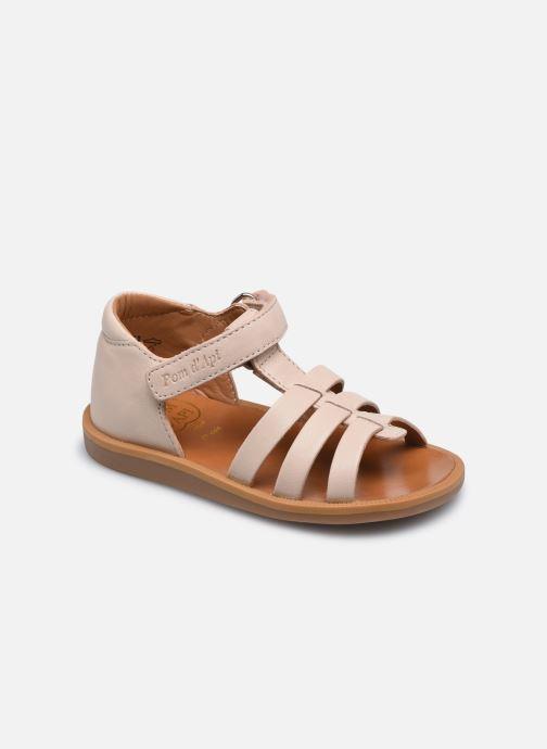 Sandali e scarpe aperte Pom d Api POPPY STRAP Rosa vedi dettaglio/paio