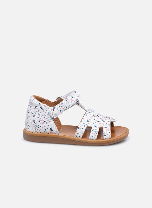 Sandali e scarpe aperte Pom d Api POPPY STRAP Bianco immagine posteriore