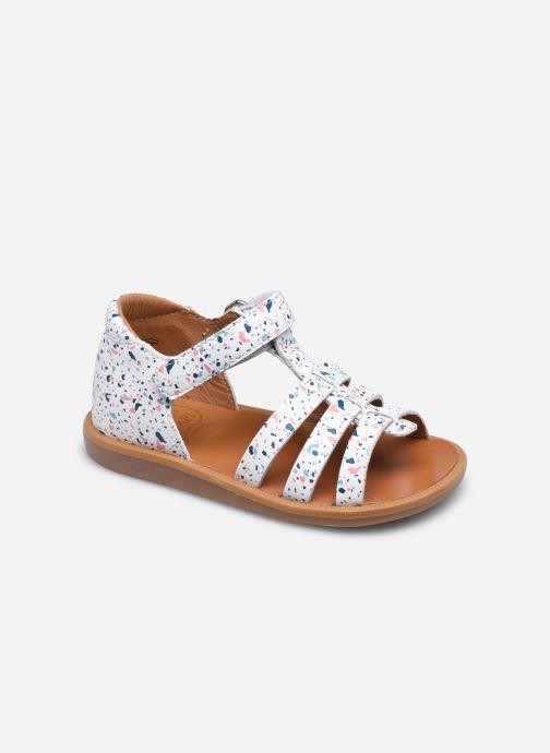 Sandali e scarpe aperte Pom d Api POPPY STRAP Bianco vedi dettaglio/paio