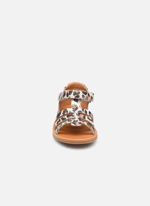 Sandalen Pom d Api POPPY STRAP beige schuhe getragen