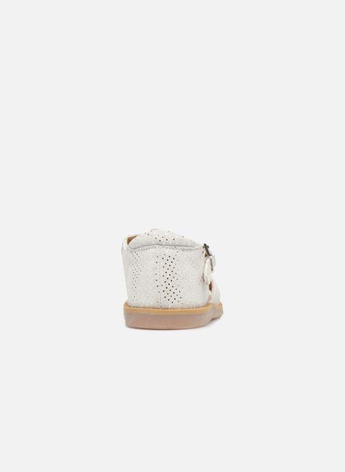 Sandales et nu-pieds Pom d Api POPPY BUCKLE Blanc vue droite