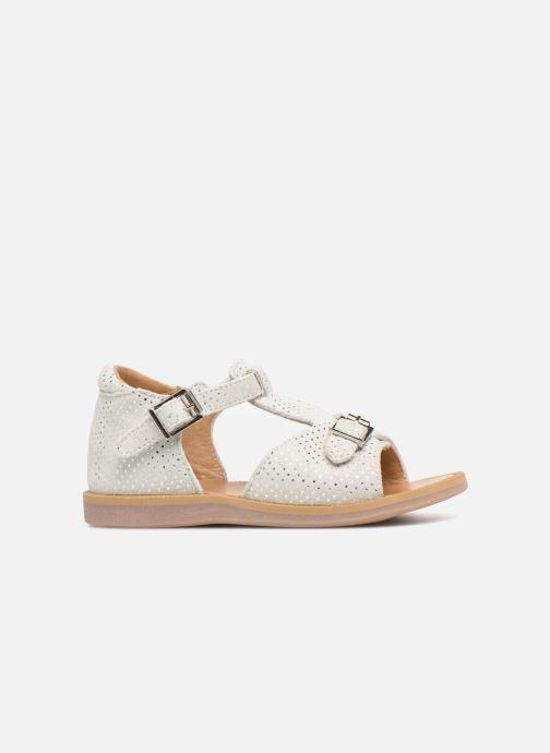 Sandales et nu-pieds Pom d Api POPPY BUCKLE Blanc vue derrière