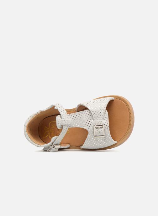 Sandales et nu-pieds Pom d Api POPPY BUCKLE Blanc vue gauche