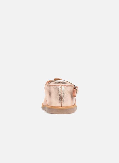 Sandalen Pom d Api POPPY BUCKLE gold/bronze ansicht von rechts