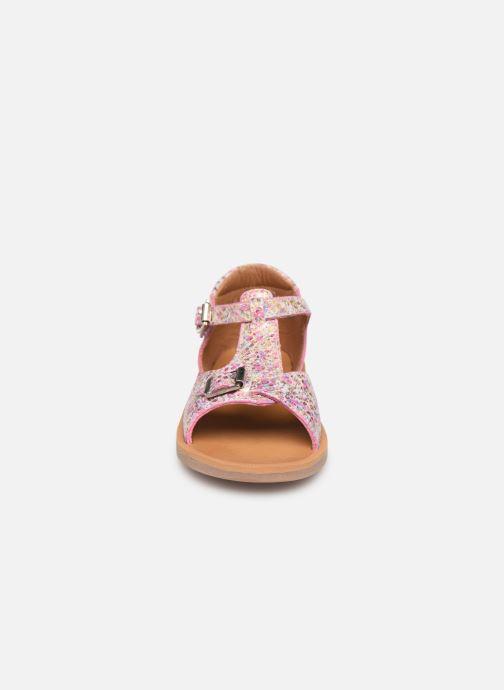 Sandales et nu-pieds Pom d Api POPPY BUCKLE Multicolore vue portées chaussures