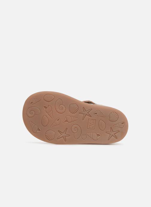 Sandales et nu-pieds Pom d Api POPPY BUCKLE Or et bronze vue haut
