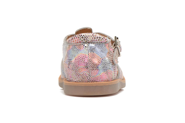 Sandales et nu-pieds Pom d Api POPPY BUCKLE Multicolore vue droite