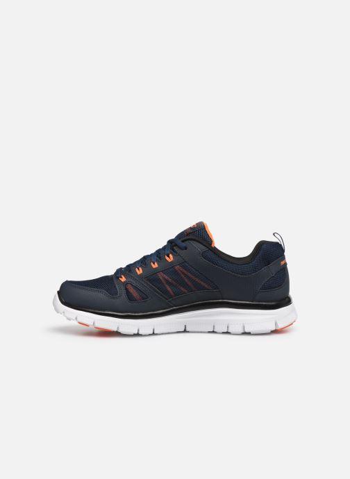 Sport shoes Skechers Flex Advantage 51251 Blue front view