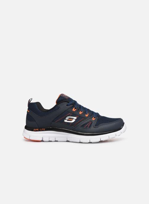 Sport shoes Skechers Flex Advantage 51251 Blue back view