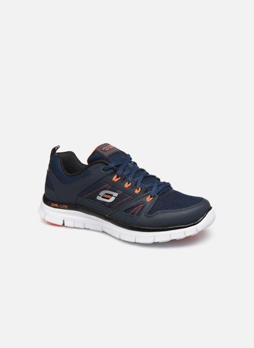Sport shoes Skechers Flex Advantage 51251 Blue detailed view/ Pair view