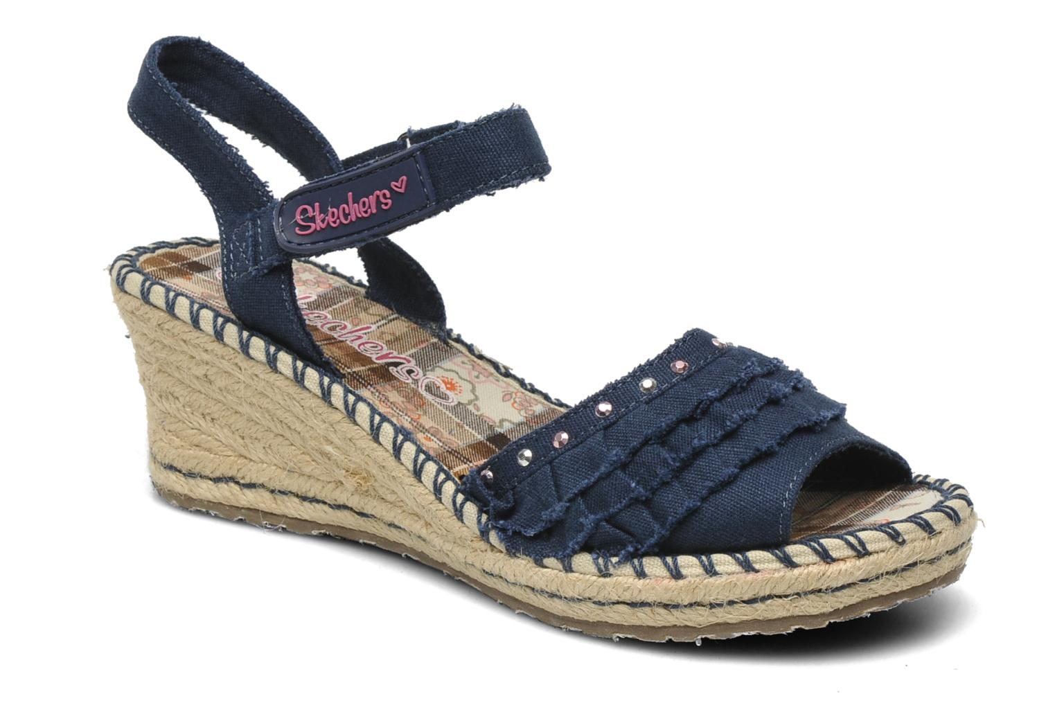 Sandals Skechers TikisRuffle Ups Blue detailed view/ Pair view