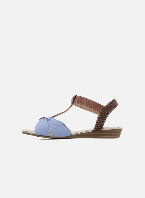 Sandals Mustang shoes Beibei Blue front view