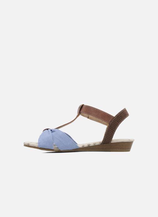 Sandalen Mustang shoes Beibei blau ansicht von vorne
