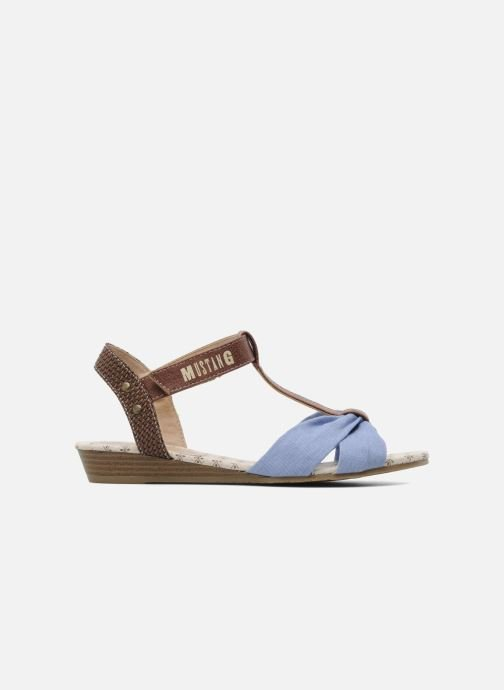 Sandals Mustang shoes Beibei Blue back view