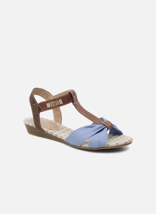 Sandals Mustang shoes Beibei Blue detailed view/ Pair view