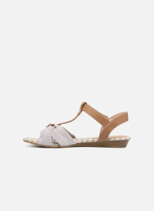 Sandales et nu-pieds Mustang shoes Beibei Rose vue face